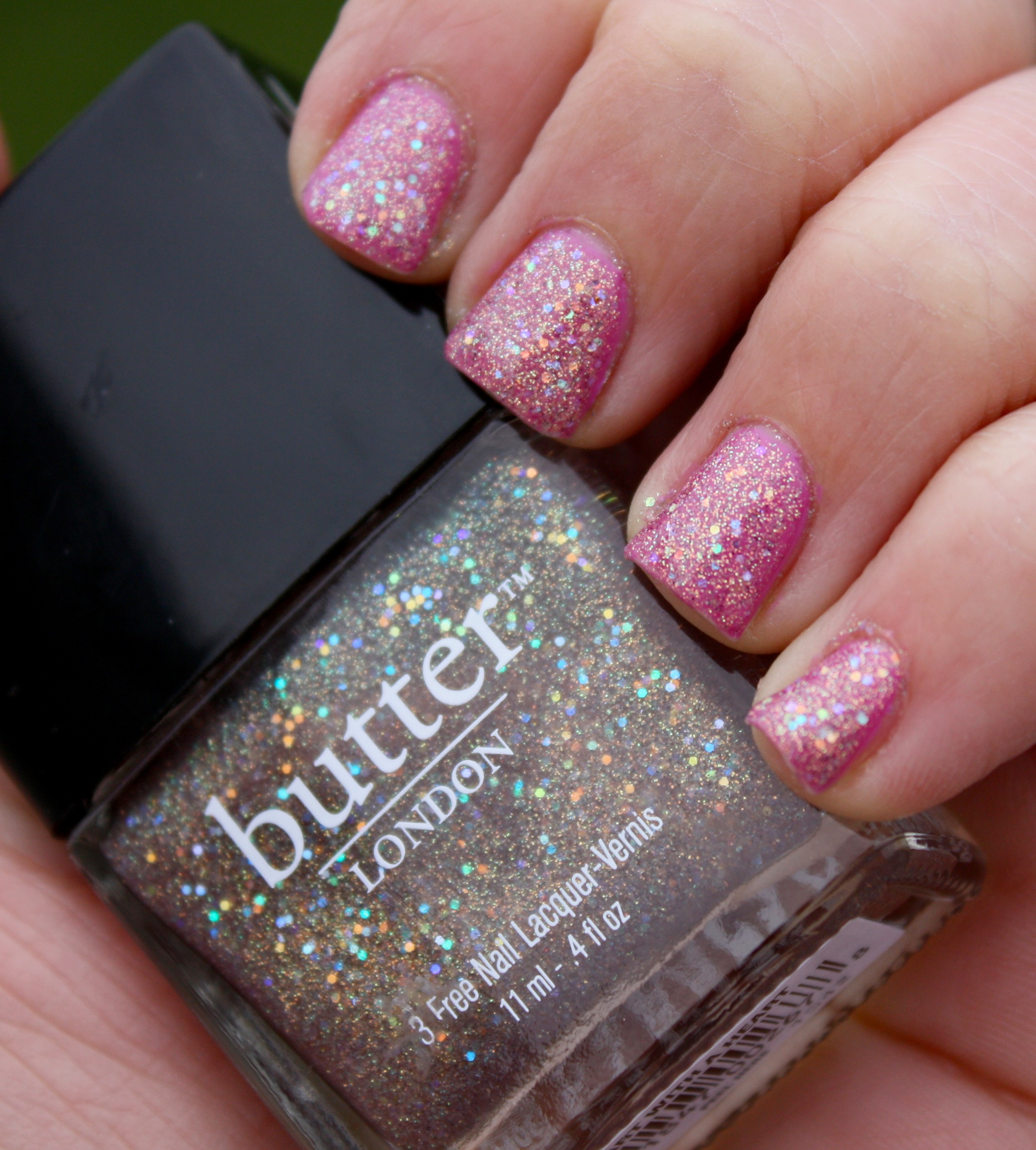 Butter London Tart With A Heart and Essie A Splash of Grenadine ...