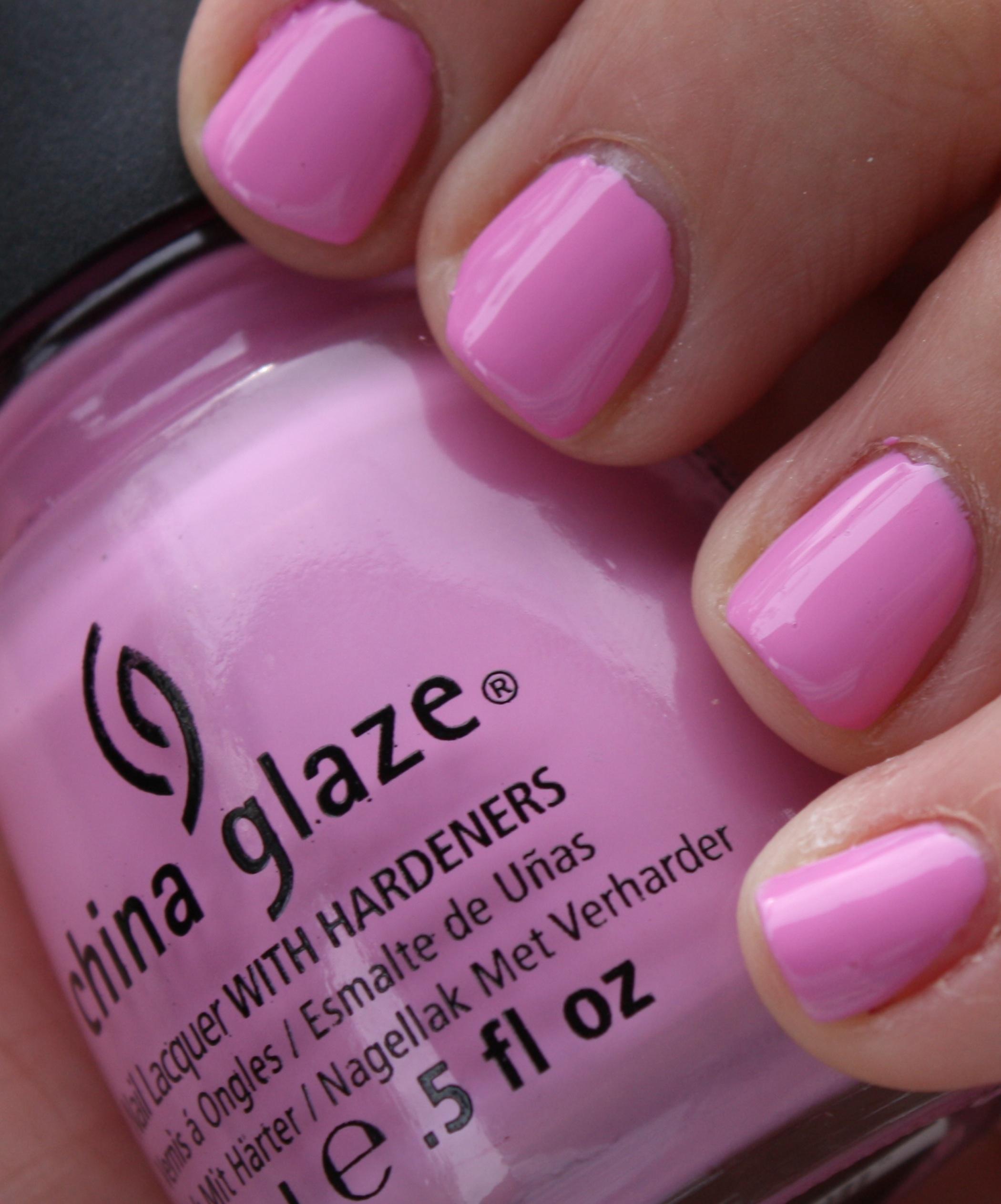 China Glaze Nail Polish In Bulk: China Glaze Pink Nail Polish In Bulk