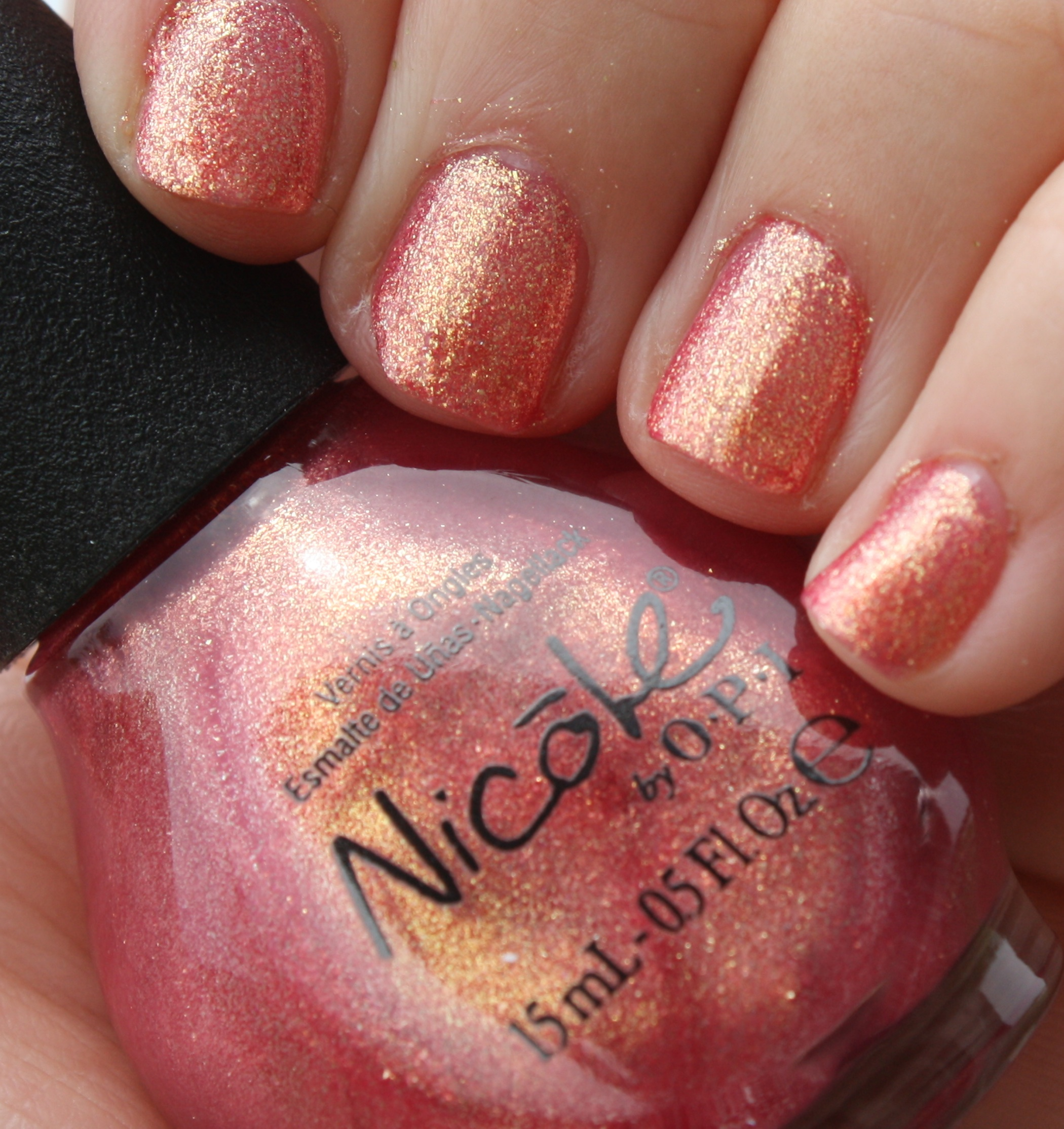 Nicole By OPI: Coral Denominator – horrendous color