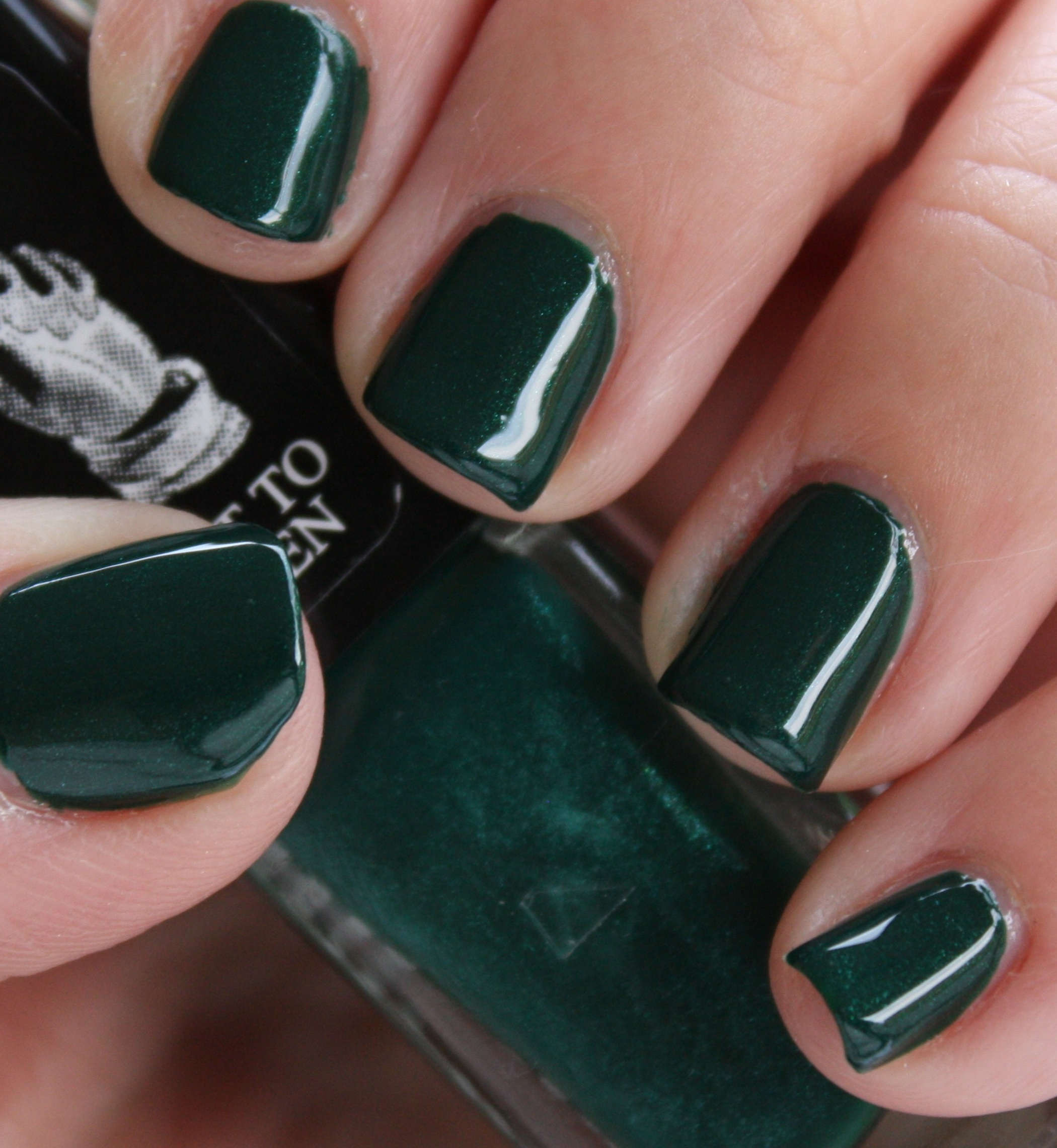 Butter London British Racing Green – horrendous color