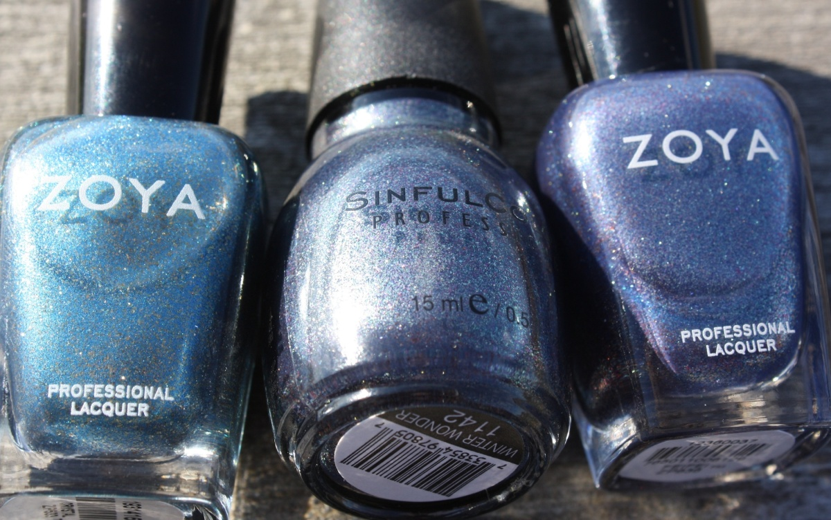 Zoya Fei Fei Comparisons