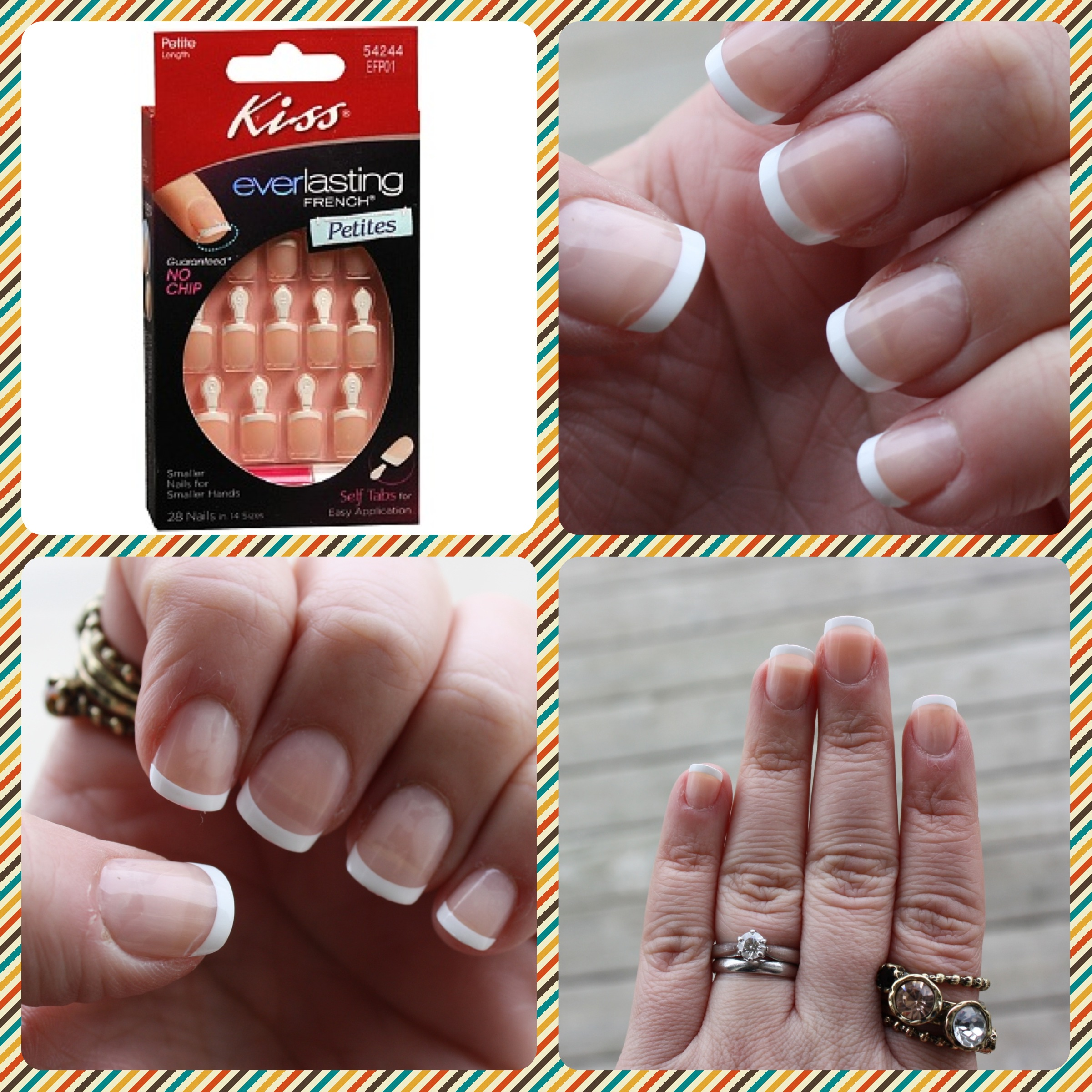 Kiss Everlasting French Petites Nails – horrendous color