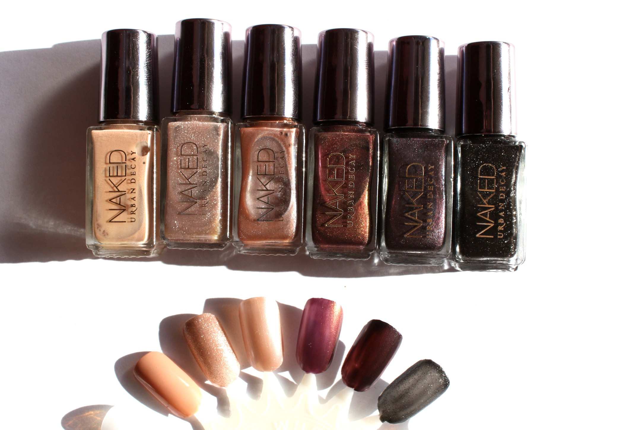 Urban Decay Naked Nail Polish Swatches – horrendous color