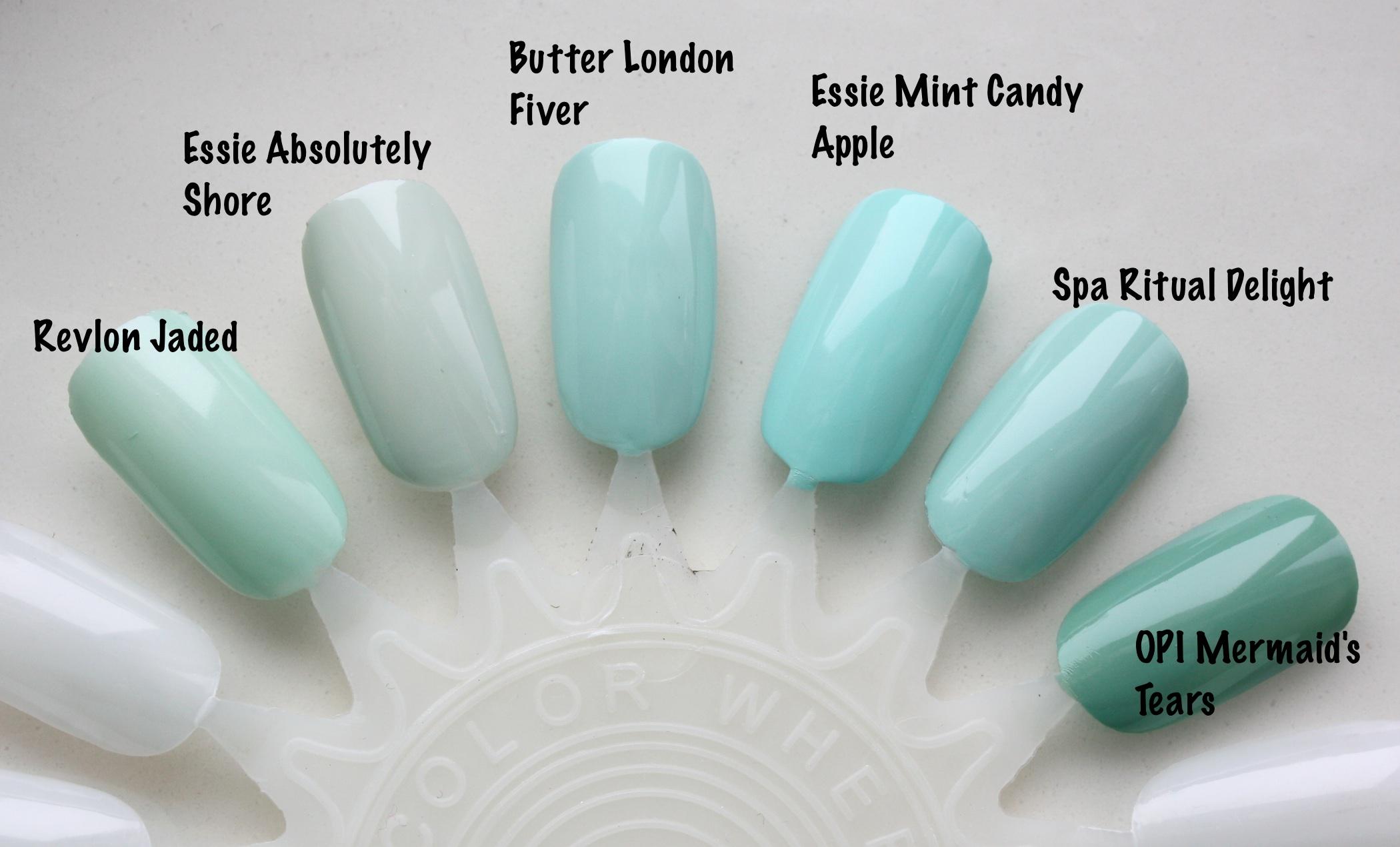 Butter London Fiver Comparisons! – horrendous color
