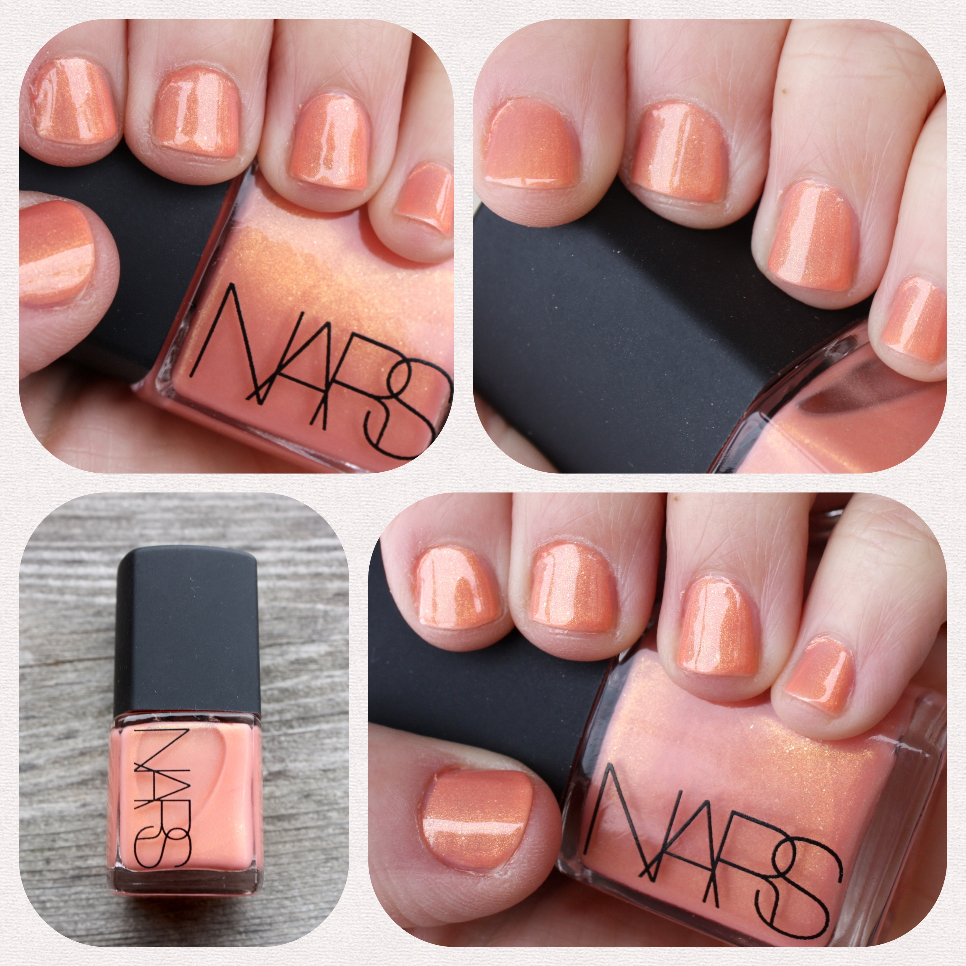 Alphabet Challenge: NARS Orgasm – horrendous color