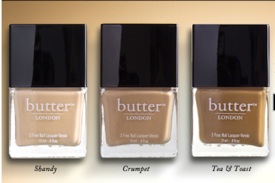 Butter London Nudes!