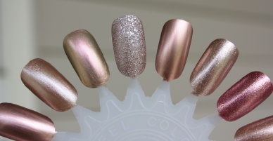 Rose Gold Polish Swatches and Comparisons!