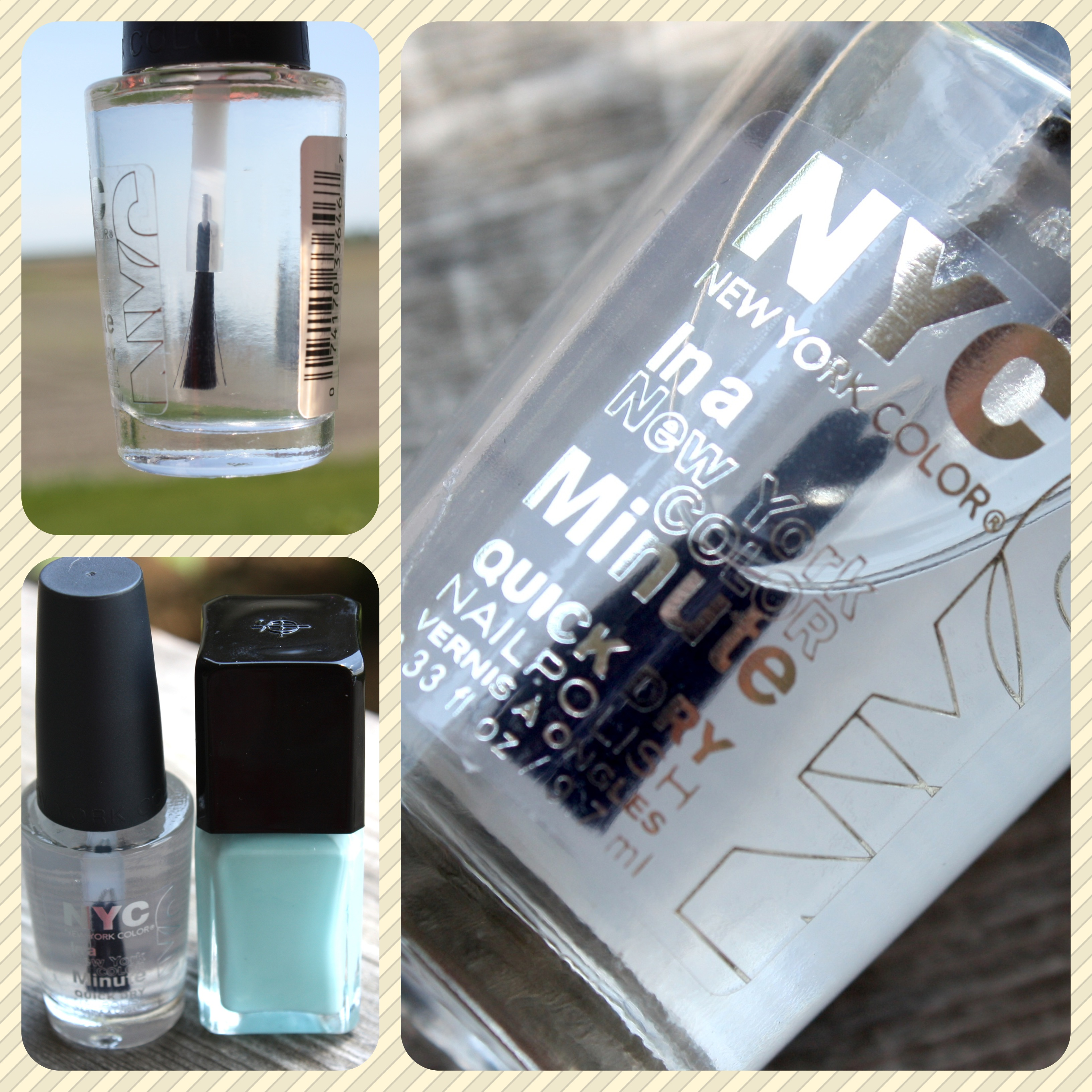 NYC In A New York Minute Quick Dry Top Coat Review – horrendous color