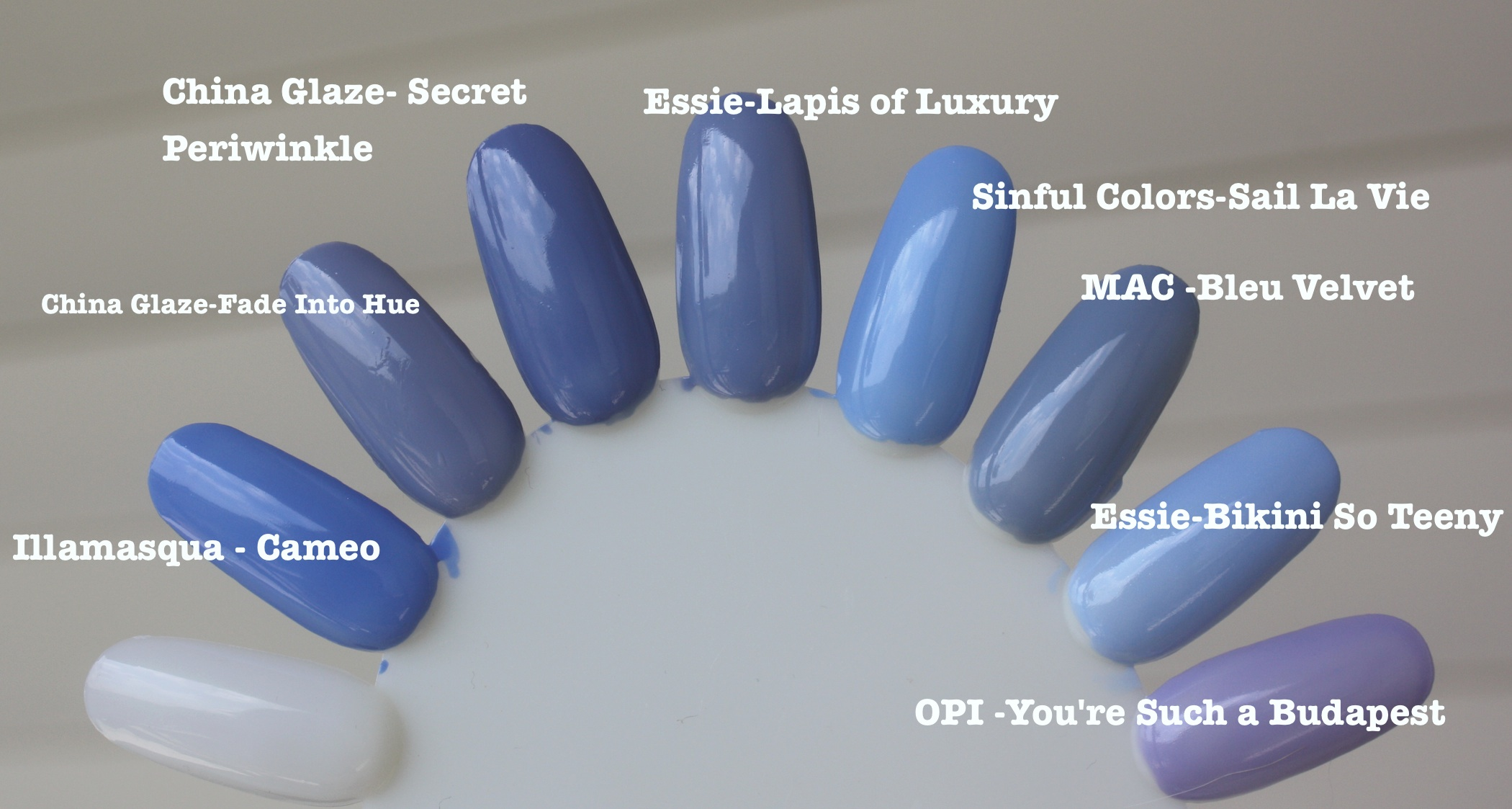periwinkle nail polish – horrendous color