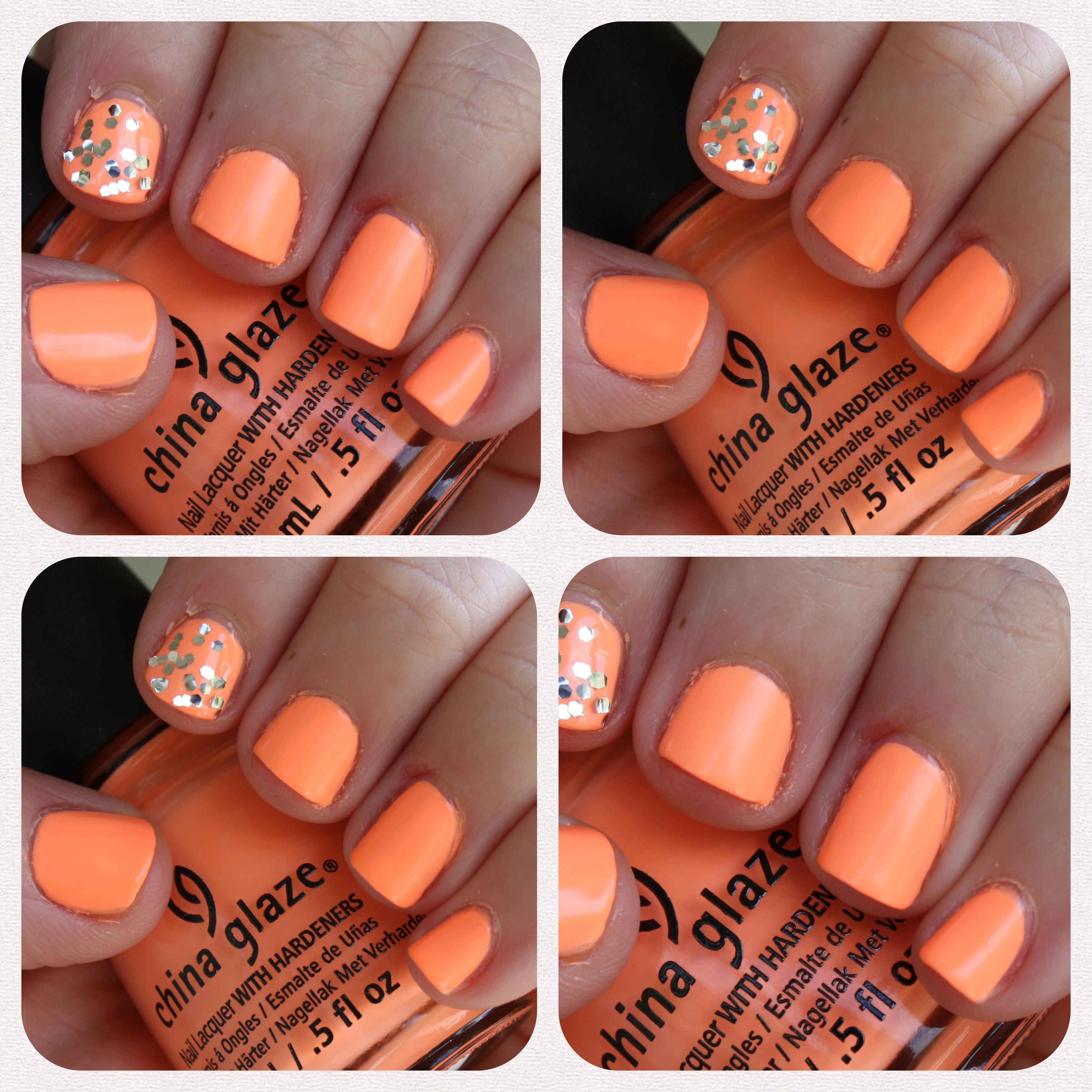 China Glaze Son of a Peach – horrendous color