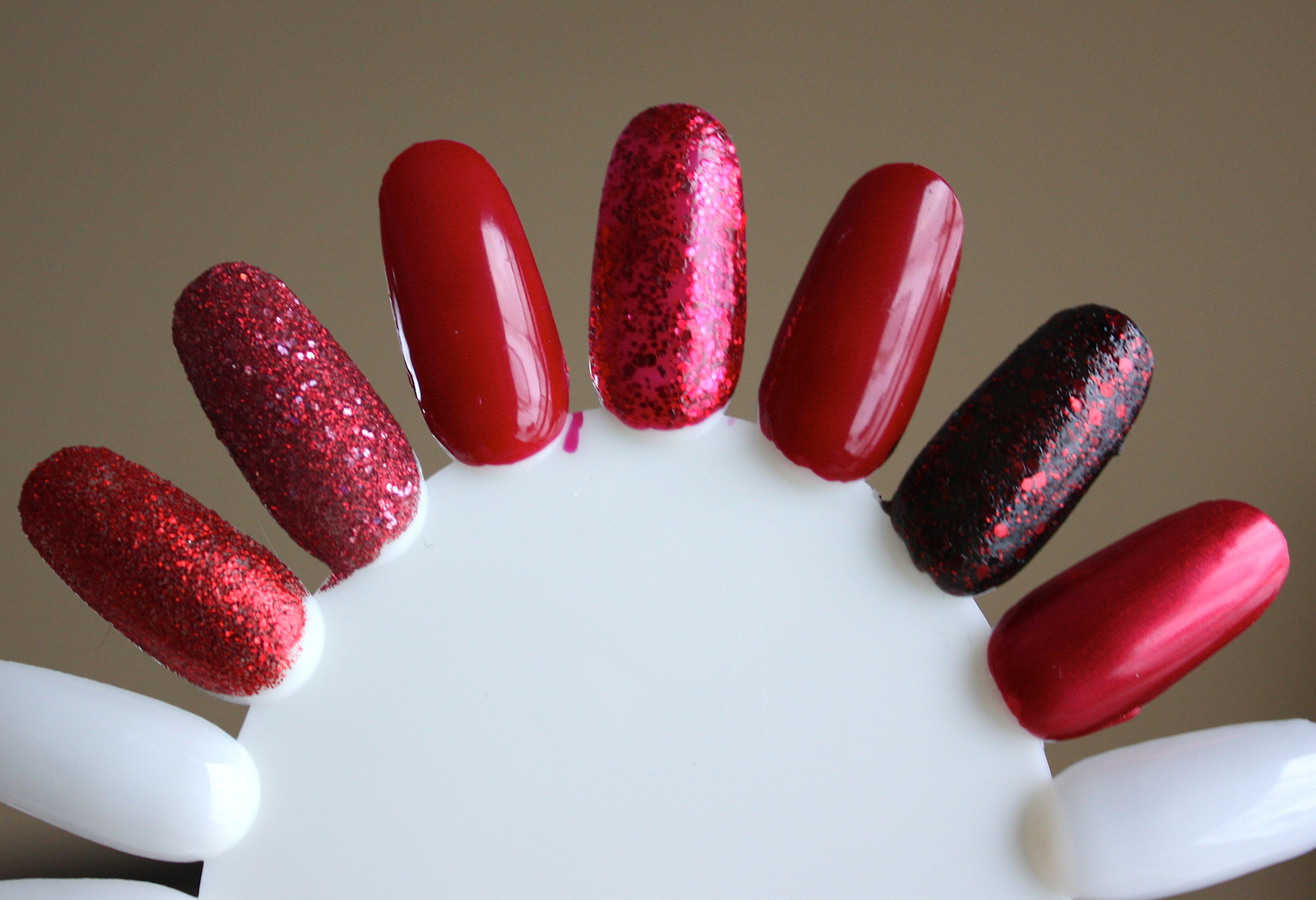 christmas nail polish – horrendous color