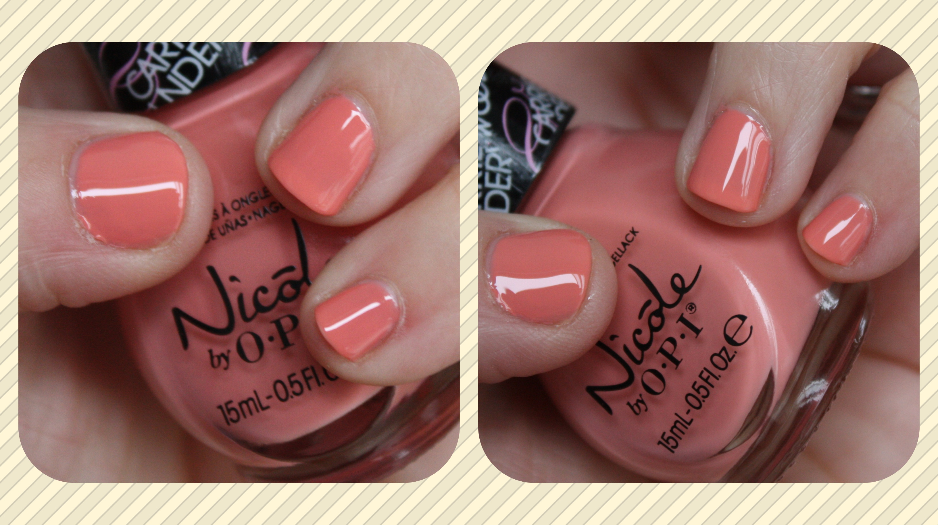 Nicole by OPI – horrendous color