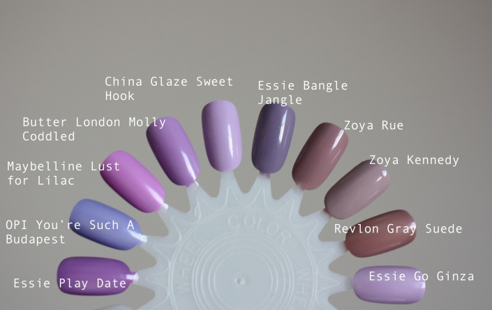 2014 Color of the Year: Radiant Orchid Polish Picks!
