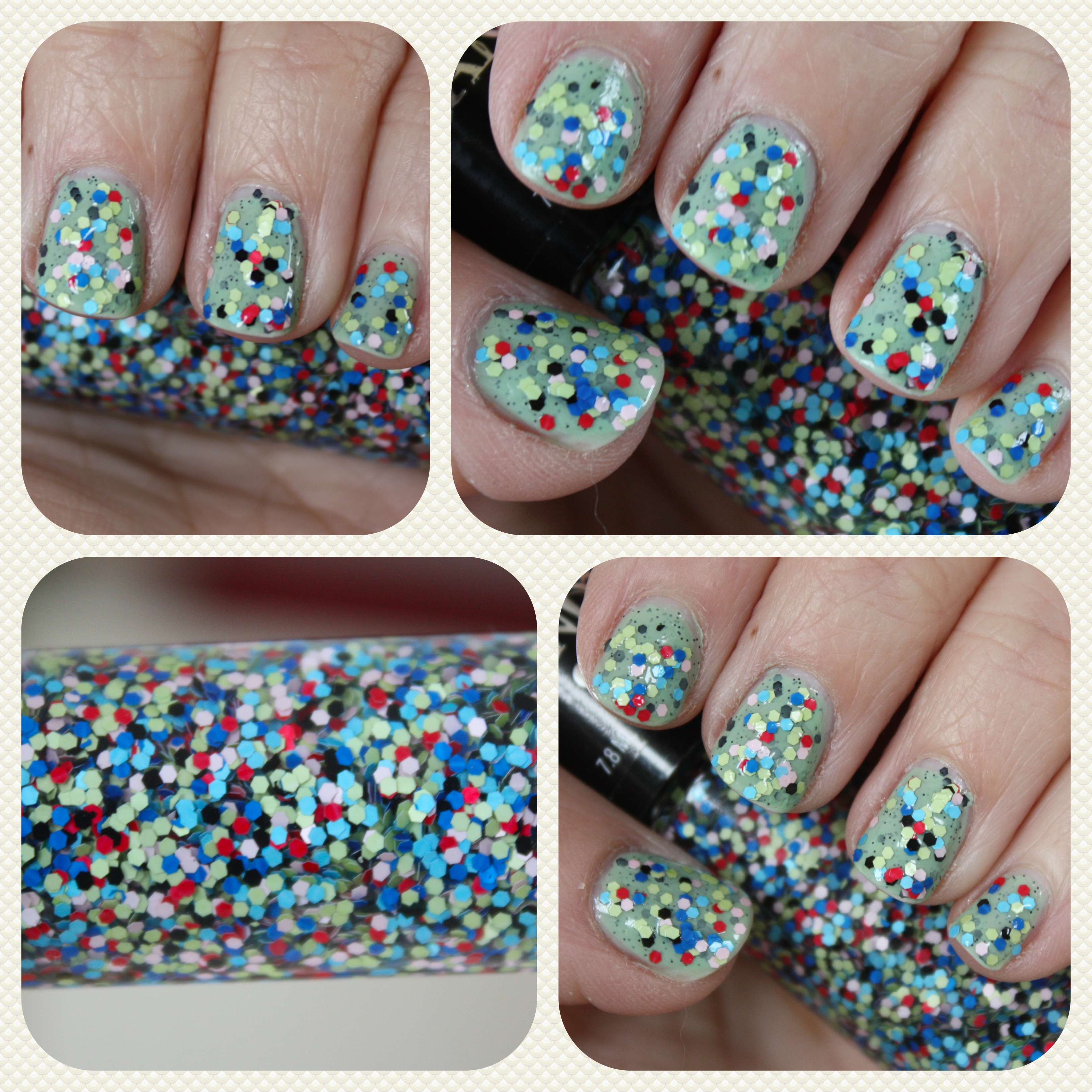 Candy Color Nail Polish: Hard Candy Pop-Arazzi