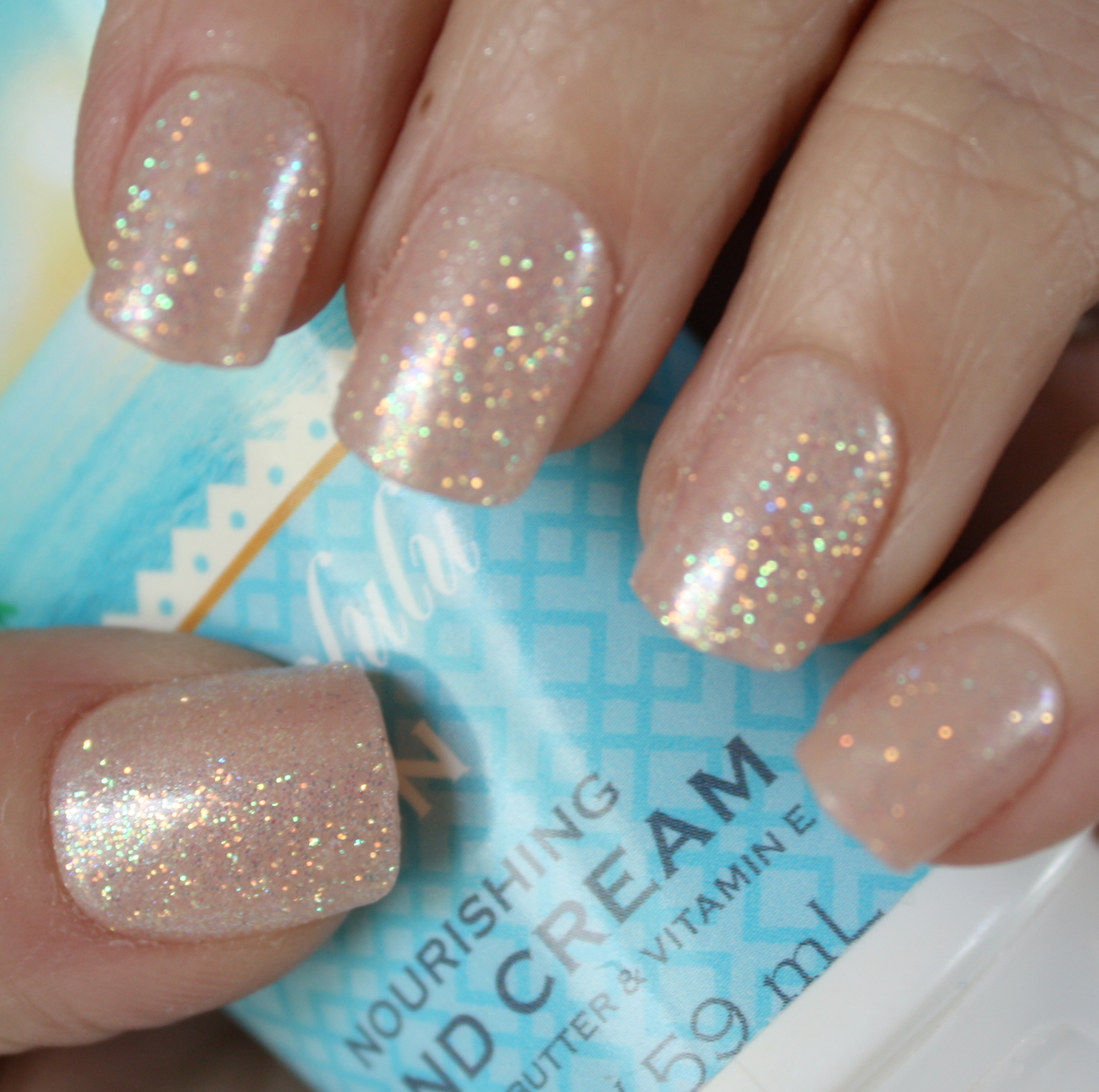 Impress Nails Short Length Shimmer Nails – horrendous color