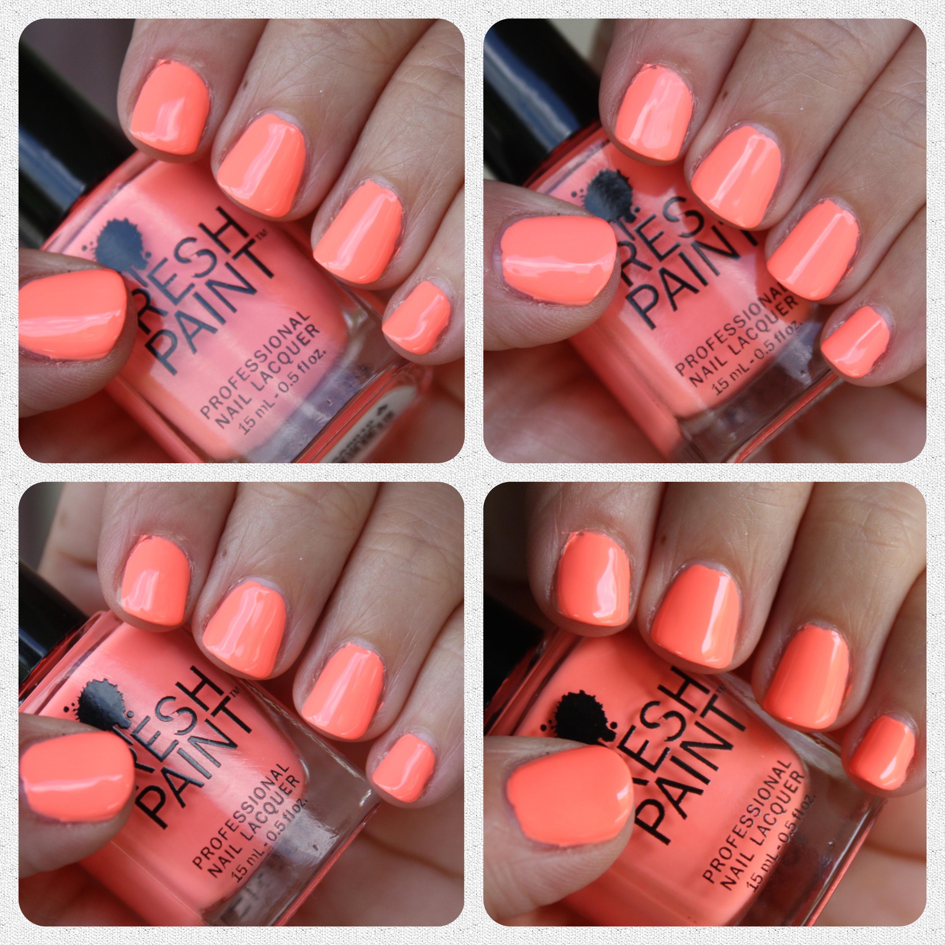 Fresh Paint Guava – horrendous color